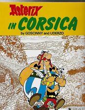 ASTERIX IN CORSICA Softcover Goscinny & Uderzo