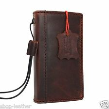 genuine vintage leather case for iphone 4s cover pouch s 4  book wallet stand id