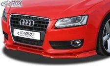 RDX Spoilerlippe für Audi A5 Coupe 8T Cabrio 8F Schwert Front Splitter Ansatz