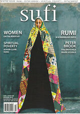 SUFI Issue Winter 2015 RUMI Spiritual Poverty Peter Brook Women on the Rooftop