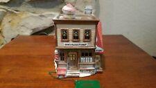 Department 56 New England Village Ben's Barbershop 837583 Retired