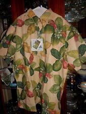 REYN SPOONER XXL FALSE KAMANI  New NWT Hawaiian Camp Shirt OOP TROPICAL FLORAL
