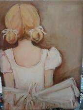 Beautiful Ballerina Blonde Canvas Art 18x24