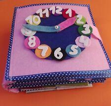 Quiet book, montessori, libro tranquillo, giocattolo educativo