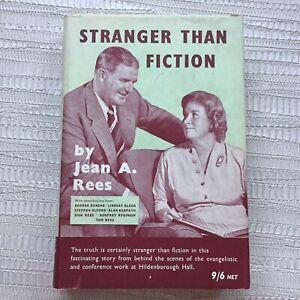 Stranger than Fiction by Jean A. Rees - Signed - Vintage Hardback In Dust Jacket
