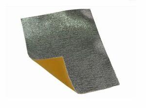 Foglio alluminio paracalore isolante termico adesivo 50X30 carena moto ducati