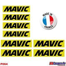 8 Autocollants MAVIC - Stickers Weel decals cosmic Rim set- P064
