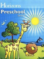 Alpha Omega Horizons Preschool Book 2 Pre-K Workbook Homeschooling Lesson 91-180