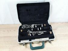 Bundy Resonite Selmer Clarinet with Case 3 Mouth Piece See Pictures Untested