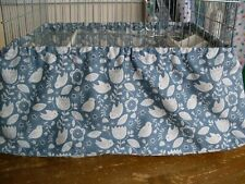 BLUE BIRD  PATTERN  BIRD CAGE TIDY  ~ medium 14 x 18 approx