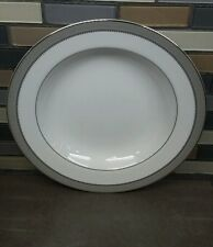 New listing New With Tags Mikasa L3428 / 220 Platinum Crown rimmed Bowl