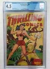 Thrilling Comics #60 1947 CGC 4.5 Princess Pantha Doc Strange Alex Schomburg