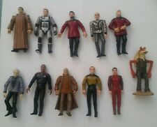 "10 VTG STAR TREK Lot PLAYMATES 1993-94 Action Figure Toys 5"" Spock Leonard Nemoy"