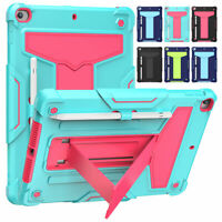 "For iPad 10.2"" 7th 8th Generation 2020 Stand Shockproof Hybrid Rugged Case Cover"
