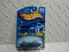 2001 Hot Wheels Treasure Hunt #11 Blue Deora w/Redline Wheels
