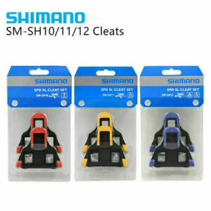 Shimano Road SPD-SL Cleats Bike Cycle Bicycle Pedal SM-SH10 SM-SH11 SM-SH12