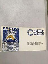 1936 Ucla Bruins Football Schedule Envelope University California Los Angeles