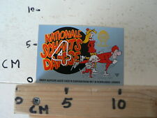STICKER,DECAL NATIONALE SCHAATS 4 DAAGSE SKATING A