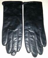 Women's vintage Black leather Winter Gloves brand new