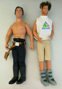 2 x  Action Man GI Joe Military Figurines Toys with bulk lot of accessories
