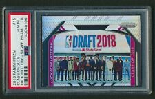 2018-19 Panini Prizm Class of 2018 Luck Of The Lottery Silver Rookie PSA 10 4N