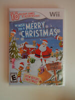 We Wish You a Merry Christmas Game New & Sealed! Nintendo Wii