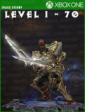 Diablo 3 Xbox One - Fully Modded Set Witch Doctor Helltooth - Level 1 - 70