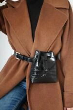 Mango BLACK Fashion Belt Bag. Size M