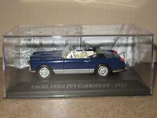969P IXO 81 Facel Vega Fvs Cabriolet Open 1957 Blue 1:43 New +Box