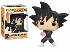 DRAGON BALL SUPER GOKU NERO 9.5cm POP VINILE Statuetta Funko 314 VENDITORE UK