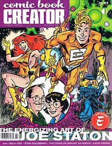 Comic Book Creator #9 Summer 2015 TwoMorrows Joe Staton Leila Leiz Stan Goldberg