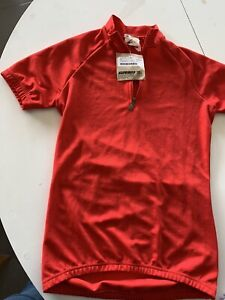 Sportful Red  Cycling Jersey-NWT-Small
