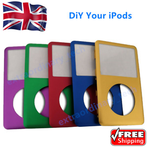 NEW Front Cover Case Blue Green Gold Purple for iPod Classic 6 7th 80 120 160GB