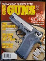 Guns Magazine April 1993 .40 S&W Business Pistol Man Stopper