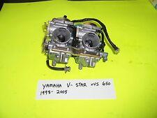 1998-2005 YAMAHA VSTAR XVS 650  SET OF MIKUNI CARBS CARBURETORS