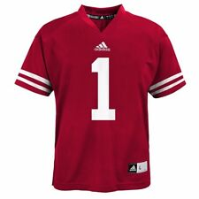 adidas Wisconsin Badgers Toddler  1 Red Replica Football Jersey 3t 0065fd3f5