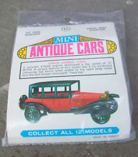 Mini Antique Cars 1925 Lancia Lambda Sedan Snap Kit 1/64 Vintage