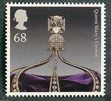 The Crown Jewels 'Queen Mary`s Crown' illustrated on 2011 Stamp - U/M