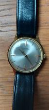 Bergana-Armbanduhr, 585 Gold, Fernsehlott., Goldpreis steigt.