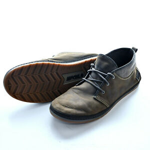 Teva Canyon Life Chukka Brown Leather Lace Up Mens Casual Shoes US 12 UK 11