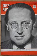 Der Spiegel - Nr. 34 vom 19. August 1953 19.8.1953 65. Geburtstag