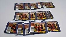 PANINI MARVEL SPIDERMAN STICKER CARD UNOPENED PACK LOT OF 15 - 105 CARDS
