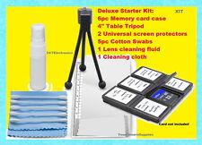 11pcs CLEANING STARTER KIT CASE TRIPOD to CANON SX20 SX40 SX30 SX50 T3 T3i T4i