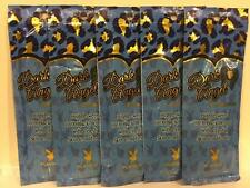 PLAYBOY DARK ANGEL Bronzer Indoor Tan Tanning Sample Lotion 5 Packets LOT