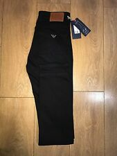 Armani Jeans J45 style Regular fit Black 2017 W30 32 34 36 38 SALE