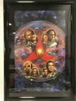 Star Trek Klingon Litho Lithograph - Framed Signed by Artist: Keith Birdsong