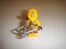 LEGO NINJAGO SKYLOR minifigure Yellow Nlnja WITH WEAPON 70746 New 2015