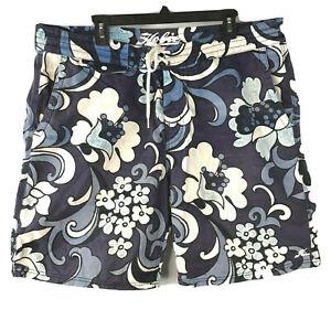 Hobie by Hurley Hawaiian Trunk Shorts 38 Mens 2013 Heavy Cotton Psychedelic