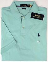 Polo Ralph Lauren Green Short Sleeve Shirt Mens Classic Fit NWT Cotton NEW $79