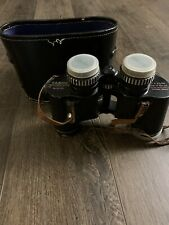 Vintage Tasco Binoculars 7 x 35 with case No 53124 551Ft At 1000 Yds Extra Wide